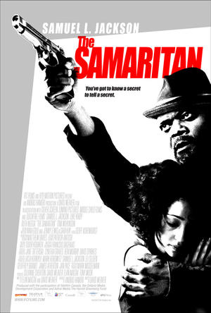 "Poster art for ""The Samaritan."""