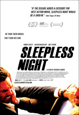 """Poster art for """"Sleepless Night."""""""