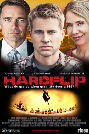 "Poster art for ""Hardflip."""