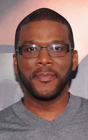 """Director Tyler Perry at the New York premiere of """"Tyler Perry's Madea's Witness Protection."""""""