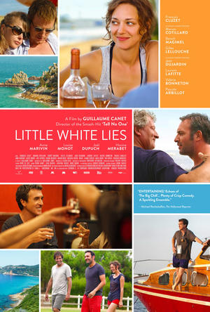 "Poster art for ""Little White Lies."""