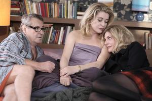 "Milos Forman, Catherine Deneuve and Chiara Mastroianni in ""Beloved."""