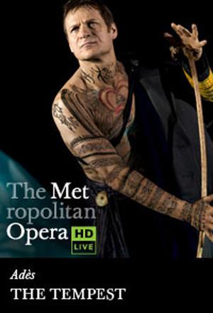 "Poster art for ""The Metropolitan Opera: The Tempest."""