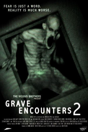 "Poster art for ""Grave Encounters 2."""