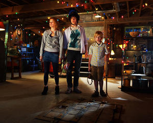"""Haley Bennett as Julie, Chris Massoglia as Dane and Nathan Gamble as Lucas in """"The Hole."""""""