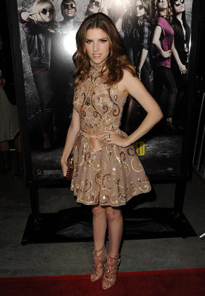 """Anna Kendrick at the California premiere of """"Pitch Perfect."""""""