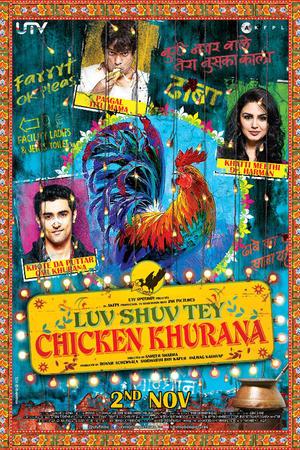 """Poster art for """"Luv Shuv Tey Chicken Khurana."""""""