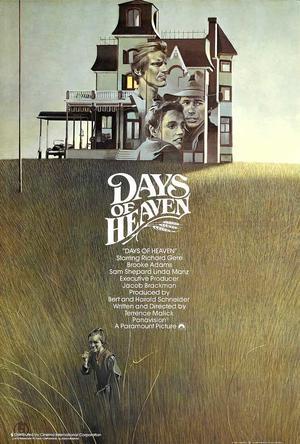 "Poster art for ""Days of Heaven."""