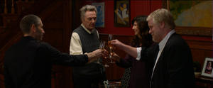 "Mark Ivanir, Christopher Walken, Catherine Keener and Philip Seymour Hoffman in ""A Late Quartet."""