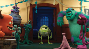 """Mike and Sulley in """"Monsters University."""""""
