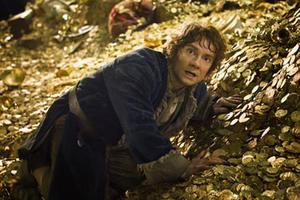 "Martin Freeman as Bilbo Baggins in ""The Hobbit: The Desolation of Smaug 3D."""
