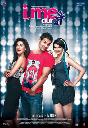 "Poster art for ""I, Me Aur Main."""