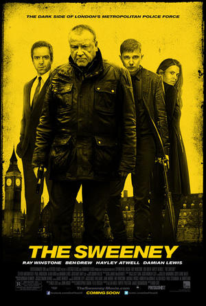 "Poster art for ""The Sweeney."""