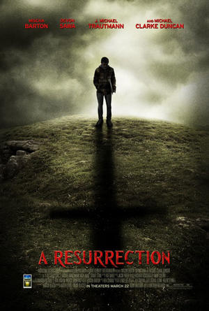 "Poster art for ""A Resurrection."""