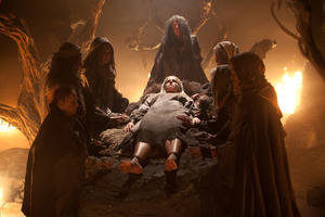 "A scene from ""The Lords of Salem."""