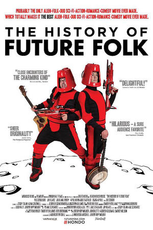 """Poster art for """"The History of Future Folk."""""""