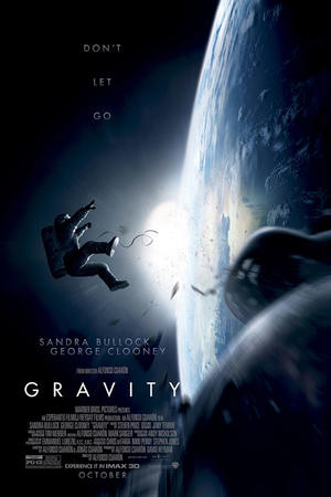 """Poster art for """"Gravity: The IMAX Experience."""""""