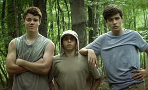 "A scene from ""The Kings of Summer."""