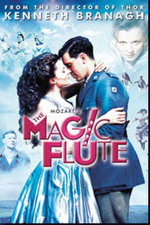 "Poster art for ""The Magic Flute."""