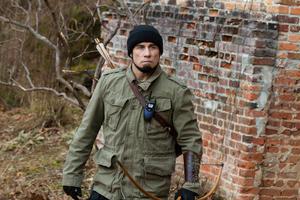 "John Travolta as Emil Kovac in ""Killing Season."""