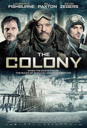 "Poster art for ""The Colony."""