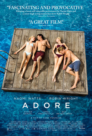 "Poster art for ""Adore."""