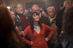 "Bronagh Gallagher in ""Grabbers."""