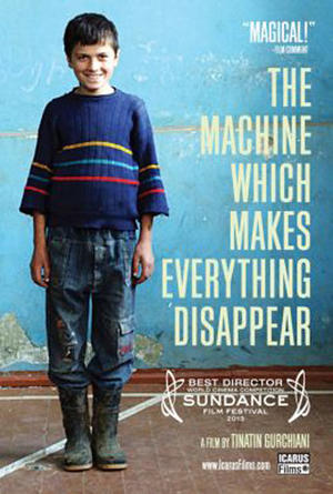 "Poster art for ""The Machine Which Makes Everything Disappear."""