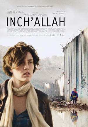"Poster art for ""Inch'Allah."""