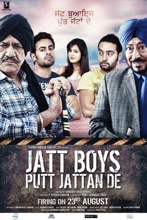 "Poster art for ""Jatt Boys."""
