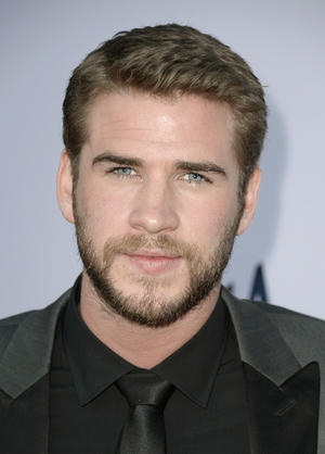 "Liam Hemsworth at the California premiere of ""Paranoia."""