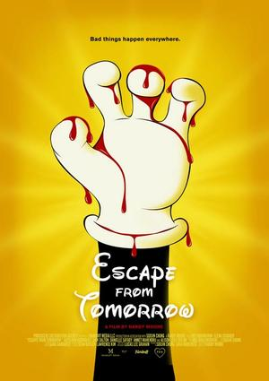 "Poster art for ""Escape From Tomorrow."""
