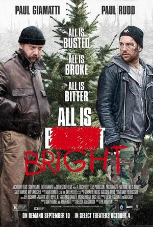 """Poster art for """"All Is Bright."""""""