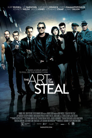 "Poster art for ""The Art of the Steal."""