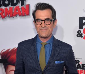 "Ty Burrell at the California premiere of ""Mr. Peabody & Sherman."""