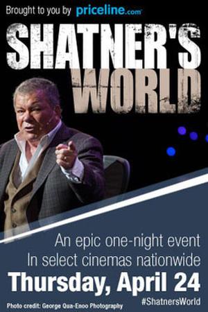 """Poster art for """"Shatner's World"""""""
