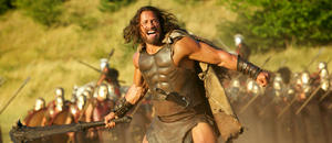 "Dwayne Johnson as Hercules in ""Hercules: The Thracian Wars."""