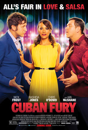 "Poster art for ""Cuban Fury."""