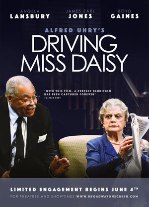 """Poster art for """"Driving Miss Daisy: Broadway."""""""