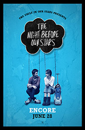 """Poster art for """"The Night Before Our Stars."""""""