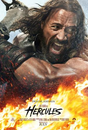 "Poster art for ""Hercules 3D."""