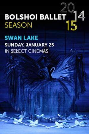"""Poster art for """"Bolshoi Ballet: Swan Lake."""""""