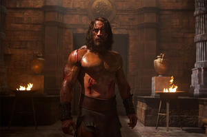 "Dwayne Johnson as Hercules in ""Hercules."""