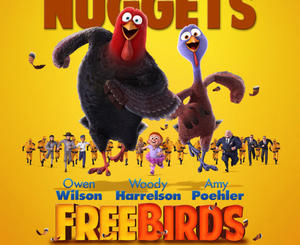Exclusive: Hold on to Your Nuggets! New 'Free Birds' Poster Is Here, New Trailer Tomorrow