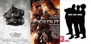 You Rate the New Releases: 'The Cabin in the Woods,' 'Lockout' and 'The Three Stooges'