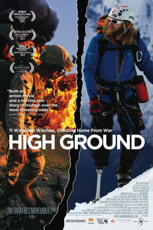 "Poster art for ""High Ground."""
