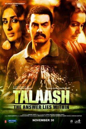 """Poster art for """"Talaash: The Answer Lies Within."""""""