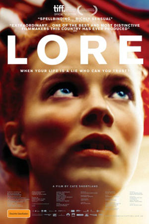 """Poster art for """"Lore."""""""