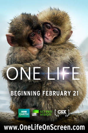 """Poster art for """"One Life."""""""