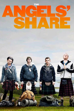 """Poster art for """"The Angels' Share."""""""